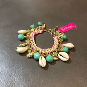 Lilly Pulitzer Spring Bound Bracelet Shell & Gold